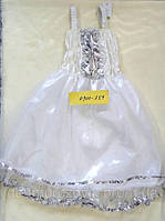 ПЛАТЬЕ СНЕГУРОЧКИ (3-5 лет).  Детский карнавальный костюм.