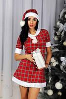 «ГЕРТРУДА». Платье-костюм Снегурочки 44 и 46 размеры