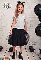Юбка из евросетки Baby angel 880-02, цвет черный