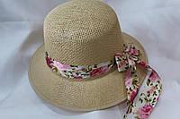 Шляпа женская летняя с бантом. Купить оптом Одесса 7 км