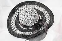 Объемная женская шляпа с бантом. Купить оптом Одесса 7 км, фото 1