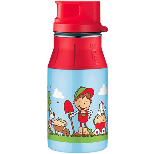 Детская бутылка Alfi elementBottle II Farm Blue 400 мл