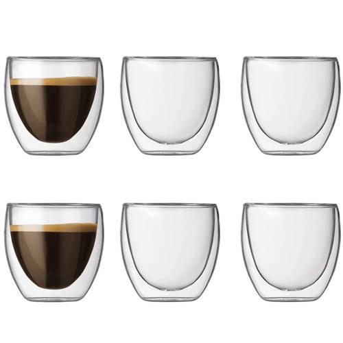 Набор Bodum Pavina 6 стаканов х 80 мл (4557-10-12)