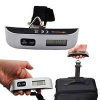 Электронные цифровые весы безмен кантер с ремешком до 50кг  Electronic Digital Luggage Scale