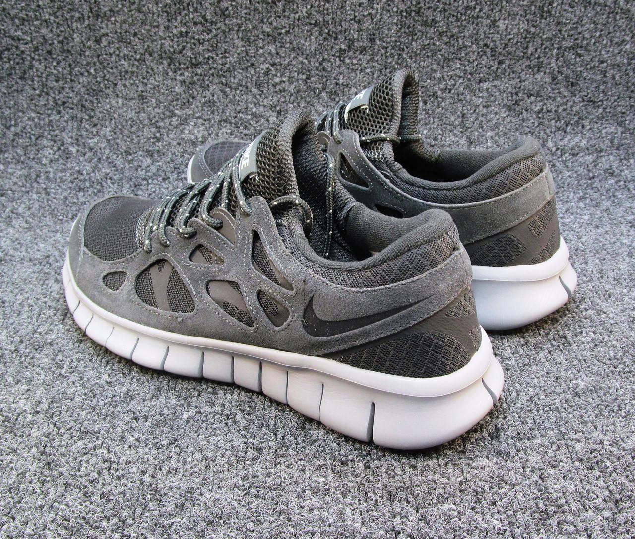 aaf4858c Кроссовки мужские Nike Free Run 2+ текстиль серые (найк фри ран)(р ...