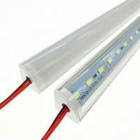 Профиль светодиодный угловой №20 + линза, фото 1