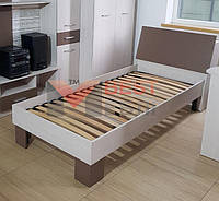 Кровать 90 (с ламелями / без матраса) системы Кросслайн, фото 1