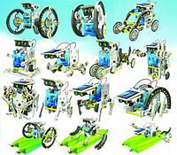 """Конструктор """"Роботостроение"""" (14 роботов в 1 наборе на солнечной батарее)"""