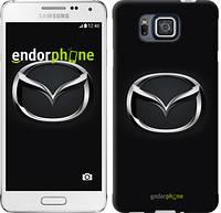 """Чехол на Samsung Galaxy Alpha G850F Mazda. Logo """"3120c-65"""""""