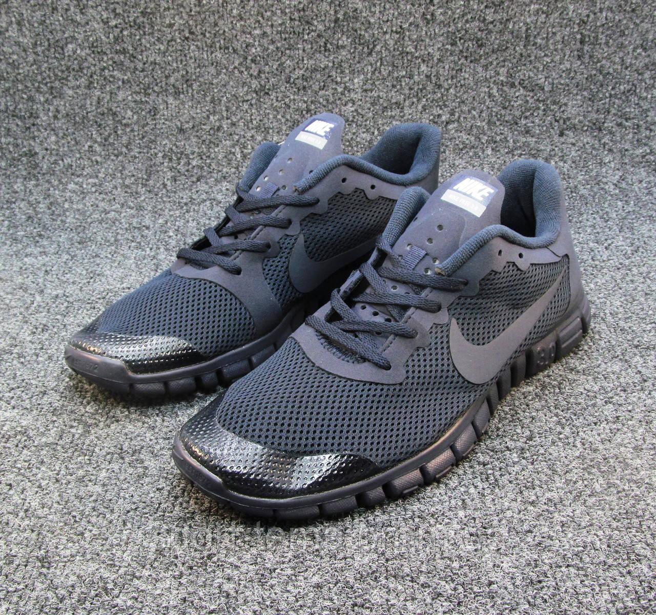 0d141231 Кроссовки мужские Nike Free Run 3.0 сетка синие (найк фри ран)(р.40 ...
