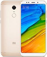 "Xiaomi Redmi 5 Plus Gold 4/64 Gb, 5.99"", Snapdragon 625, 3G, 4G (Global), фото 1"