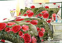 Полуторное постельное белье полиСАТИН 3D (поликоттон) 853012
