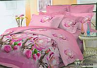 Полуторное постельное белье полиСАТИН 3D (поликоттон) 855749