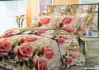 Полуторное постельное белье полиСАТИН 3D (поликоттон) 853563