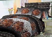 Полуторное постельное белье полиСАТИН 3D (поликоттон) 853635
