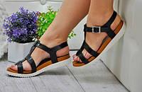 Силиконовые сандалии босоножки женские бежевые, фото 1