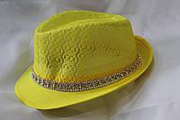 Женская шляпа с камнями. Купить оптом Одесса 7 км
