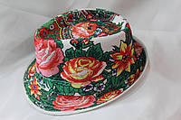 Женская шляпа ЦВЕТЫ. Купить оптом Одесса 7 км