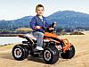 Детский квадроцикл Peg Perego T-REX 12V черно-оранжевый, мощность 280W, фото 6
