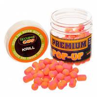 Бойлы Техно Карп Pop-Up Premium 10, 12, 10х14мм, 50гр. Krill