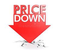 Цена катастрофически идет вниз.