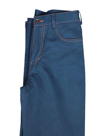 """Котоновые синие брюки для мальчика 116-134 рост """"Техас"""", фото 2"""