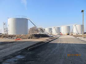 Изгототовление резервуаров на складе КАС 6