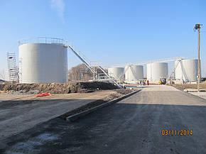 Изгототовление резервуаров на складе КАС