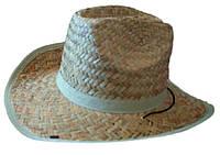 """Соломенная шляпа """"ковбойка"""""""