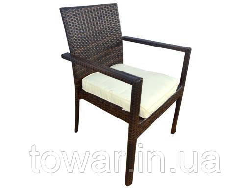 Садовый стул Technorattan + подушка TAMAN