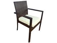 Садовый стул Technorattan + подушка TAMAN , фото 1
