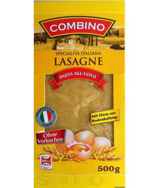 Листы лазаньи Combino 0.500гр