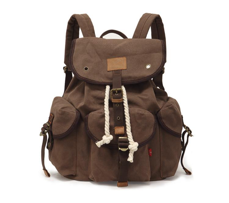 Брезентовый рюкзак Augur, фото 1