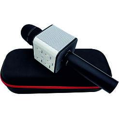 Микрофон караоке bluetooth Q7 Tbf Черный
