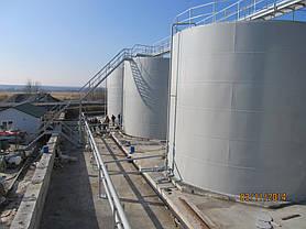 Изгототовление резервуаров на складе КАС -1