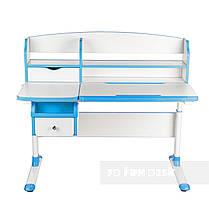Комплект парта для подростка Sognare Blue + детское ортопедическое кресло Primavera I Blue FunDesk, фото 3