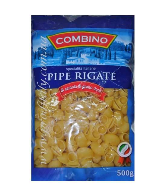 Макароны COMBINO Pipe Rigate 500гр