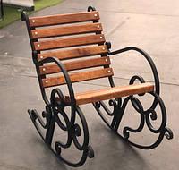 Кресло-качалка кованая 0,6м, фото 1