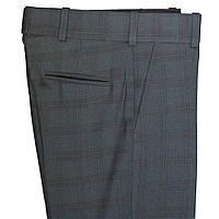"""Школьные брюки  для мальчика  """"Лондон"""" синие в клетку"""
