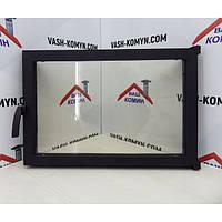 Чугунная каминная дверца -VVK 60х40см/55х36см