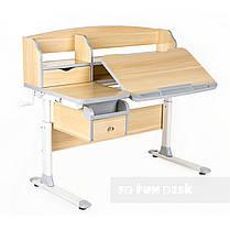 Комплект парта для подростка Sognare Grey + детское ортопедическое кресло SST9 Blue FunDesk, фото 3