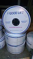 Лента Капельного полива Good Life. 8 mil - 20 см - 1,38 л/ч, Бухта 2500 метров - Корея.