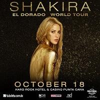 Концерт Шакиры в Hard Rock Hotel & Casino Punta Cana