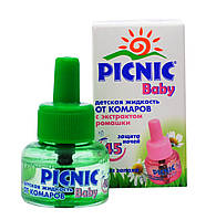 """Жидкость от комаров для детей """"PICNIC"""" Baby 30 мл"""