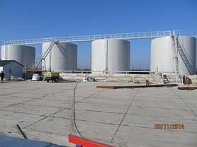 Изгототовление резервуаров на складе КАС 7