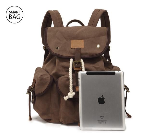 Брезентовый рюкзак Augur   коричневый
