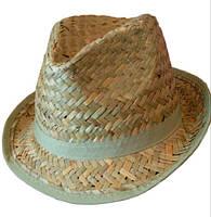 Соломенная шляпа из крупной соломки
