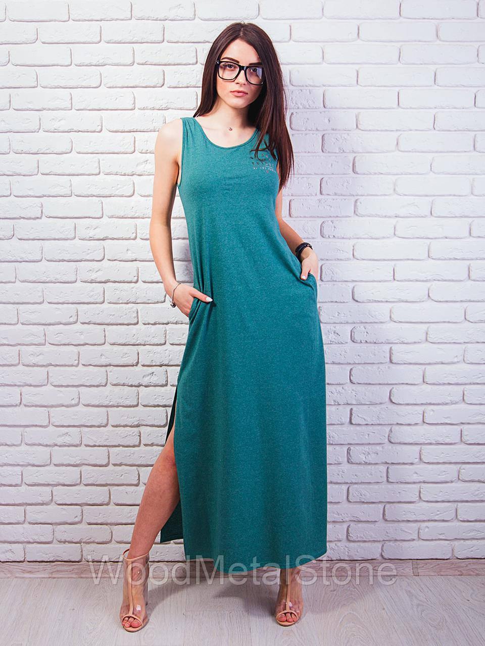 cfc8b9aa3bf Легкое женское платье-сарафан в пол 42-48