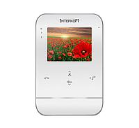 """Intercom IM-01 белый - цветной видеодомофон с экраном 4"""""""