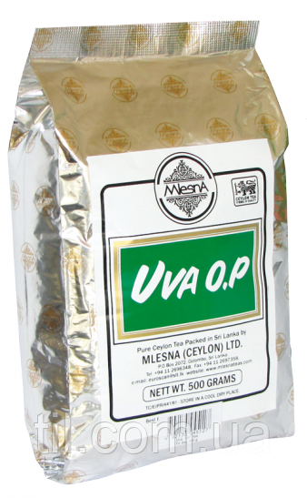 UVA Черный чай Ува 500 гр.